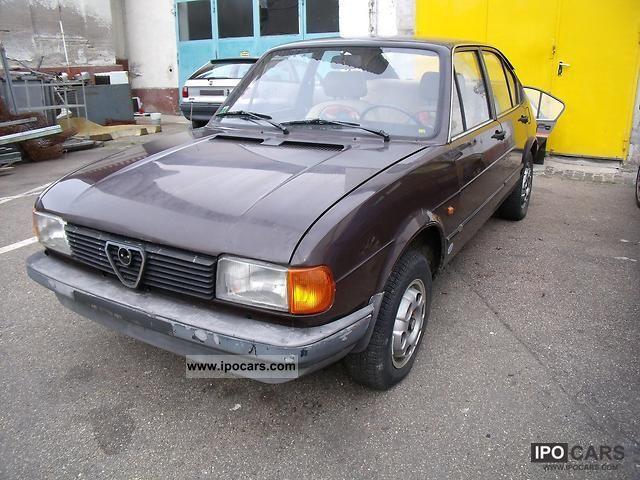 1982 Alfa Romeo  Alfasud Limousine Used vehicle photo
