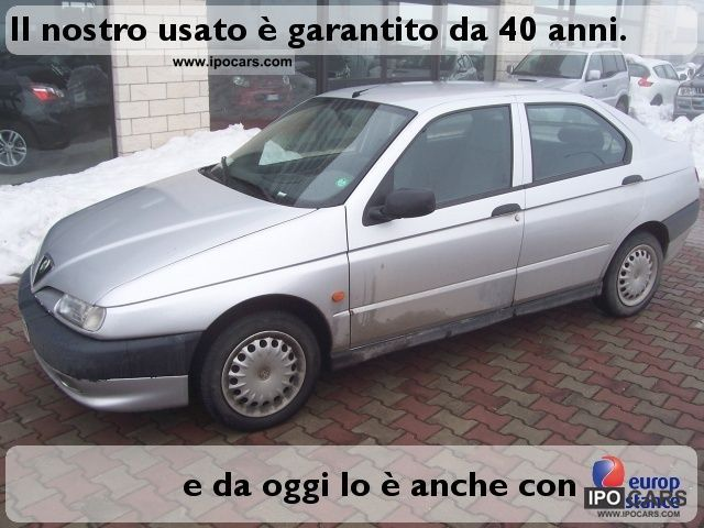 1997 Alfa Romeo  146 1.6 benz. / GPL 4pt Limousine Used vehicle photo