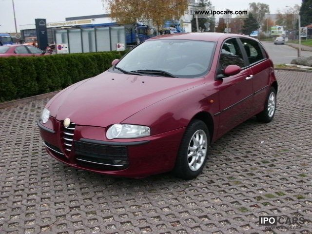 2004 alfa romeo alfa 147 1 6 twin spark eco impression. Black Bedroom Furniture Sets. Home Design Ideas
