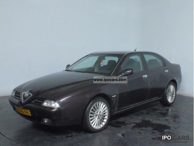 2001 Alfa Romeo  166 2.5 V6 Navi 190PK Climate Controle LM17 Limousine Used vehicle photo