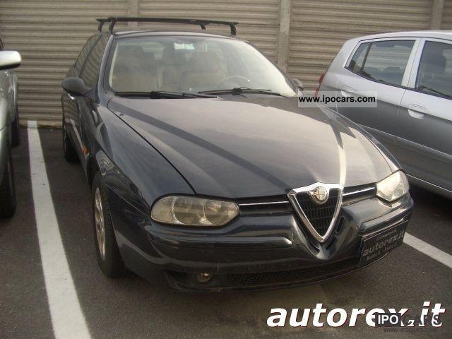 2001 Alfa Romeo  156 2.5i V6 24V SW Distinctive cat PER Commercia Estate Car Used vehicle photo