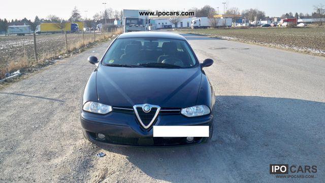 2002 Alfa Romeo  Alfa 156 Sportwagon 1.9 JTD Estate Car Used vehicle photo