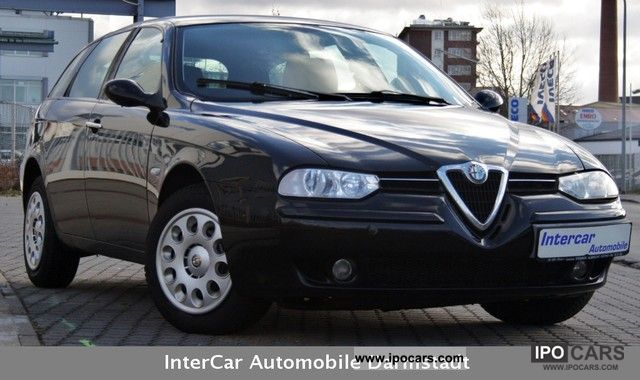 2002 alfa romeo alfa 156 sportwagon 1 6 twin spark progression car photo and specs. Black Bedroom Furniture Sets. Home Design Ideas