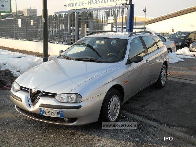 2000 Alfa Romeo  156 1.9 JTD SW progression cat Estate Car Used vehicle photo