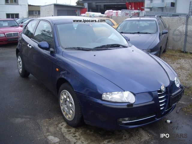 2001 alfa romeo alfa 147 1 6 twin spark eco distinctive. Black Bedroom Furniture Sets. Home Design Ideas