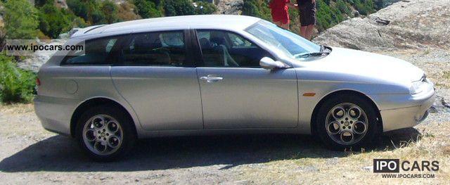 2002 alfa romeo alfa 156 sportwagon 2 4 jtd distinctive car photo and specs. Black Bedroom Furniture Sets. Home Design Ideas