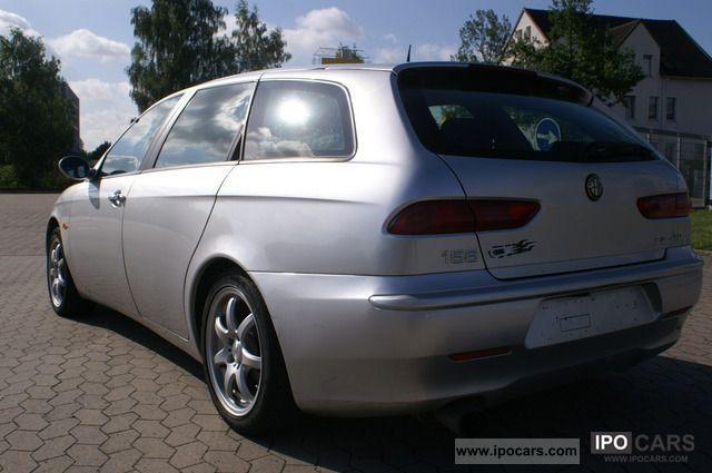 2000 alfa romeo 156 2 4 jtd air leather aluminum car photo and specs. Black Bedroom Furniture Sets. Home Design Ideas