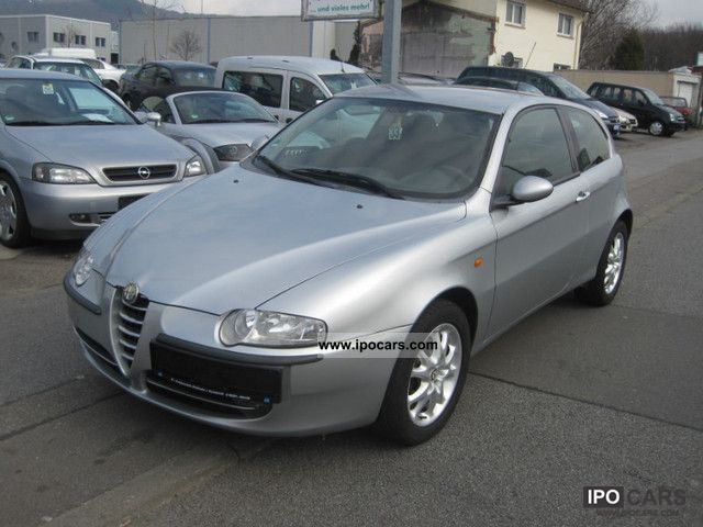 2001 alfa romeo alfa 147 1 6 twin spark car photo and specs. Black Bedroom Furniture Sets. Home Design Ideas