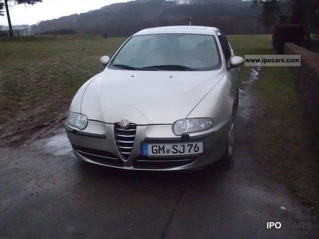 2004 alfa romeo alfa 147 1 6 twin spark eco shape car. Black Bedroom Furniture Sets. Home Design Ideas
