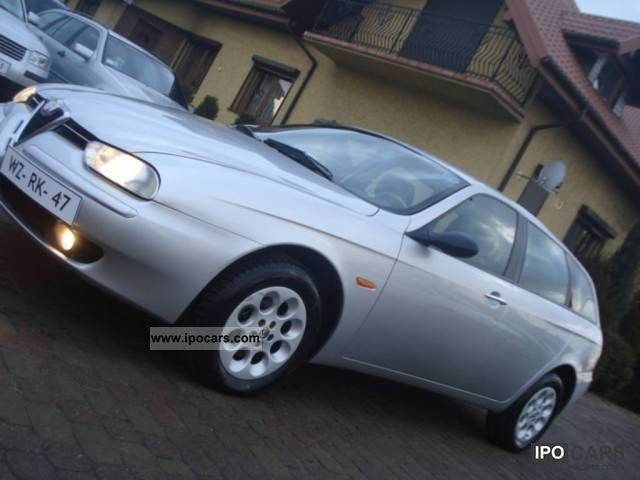 2000 Alfa Romeo  156 OPŁACONY, Skora, AIR, REJ 12.2000 Estate Car Used vehicle photo