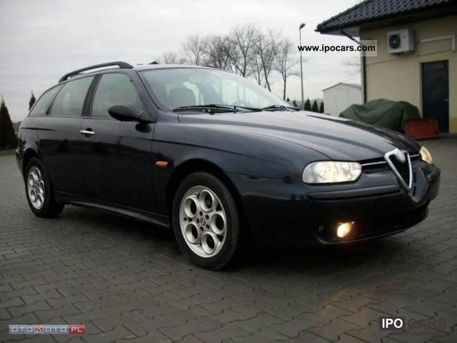 2000 Alfa Romeo  156 1.9JTD-105km-CLIMATE-CD-ALU16 Estate Car Used vehicle photo