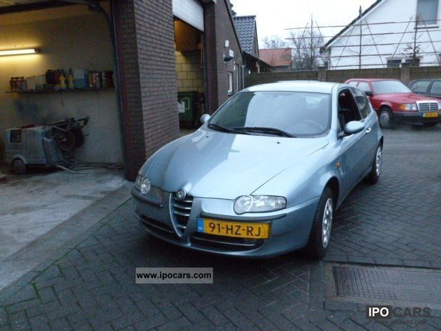 Alfa Romeo  147 1.6 lpg progression airco G3 2002 Liquefied Petroleum Gas Cars (LPG, GPL, propane) photo