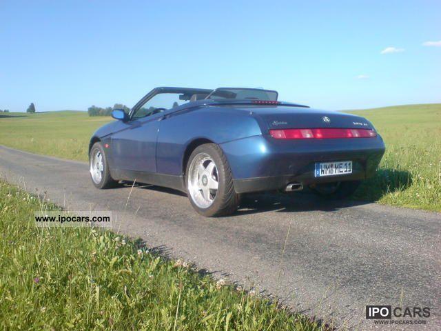 1996 Alfa Romeo  Alfa Spider 2.0 16V Twin Spark ATM 23 000 km Cabrio / roadster Used vehicle photo