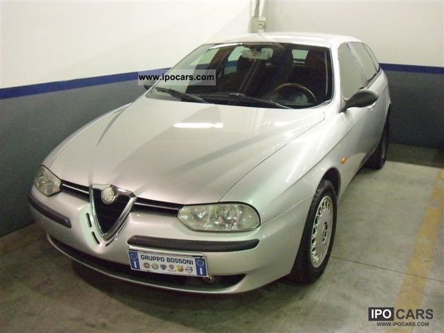 2001 Alfa Romeo  156 1.8i 16V T.S. SW progression cat Estate Car Used vehicle photo