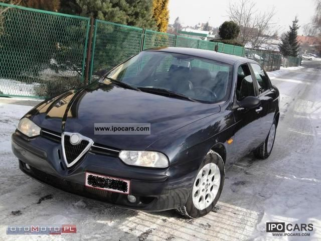 2001 alfa romeo 156 1 9 jtd 115 km climate skora aso car photo and specs. Black Bedroom Furniture Sets. Home Design Ideas