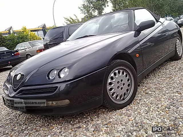 1995 Alfa Romeo  Alfa Spider 2.0 Twin Spark 16V L + + full leather climate Cabrio / roadster Used vehicle photo