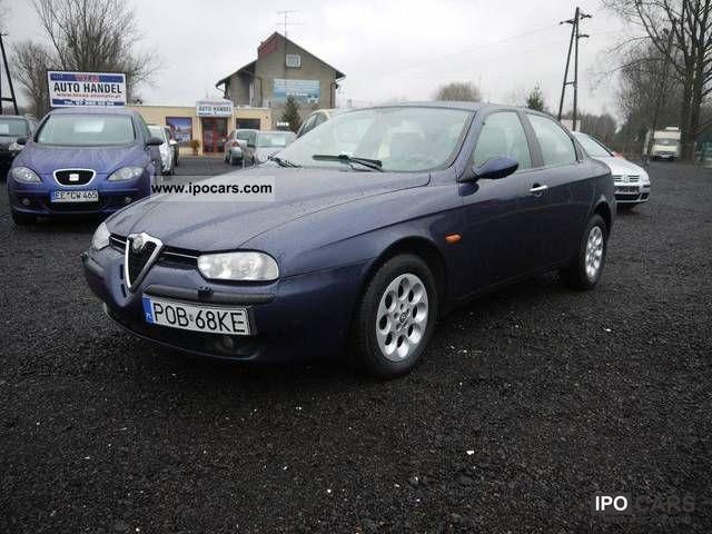 2002 Alfa Romeo  KLIMATRONI 156 K, ZADBANY Limousine Used vehicle photo