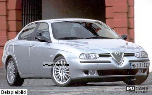 2002 Alfa Romeo  156 2.0 Selespeed T.SPARK * Auto * Leather * Air * TOP * Limousine Used vehicle photo