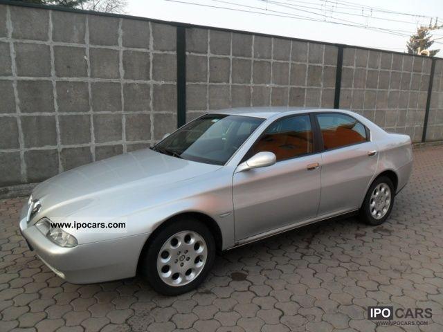 2001 Alfa Romeo  166 2.4 JTD Progression KM.330000 MOLTO BEN tenu Limousine Used vehicle photo