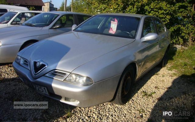 2001 Alfa Romeo  JTD 146 KM, NAVI Limousine Used vehicle photo