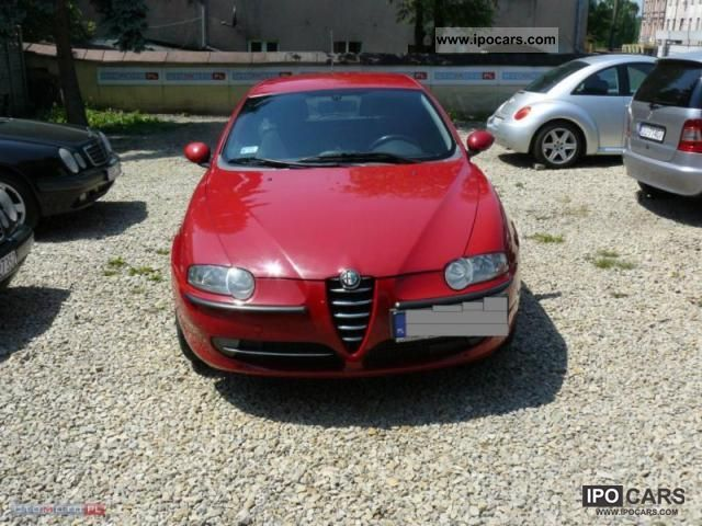 2000 Alfa Romeo  147 10 airbag, climate control, Abs, Aluminum Sports car/Coupe Used vehicle photo