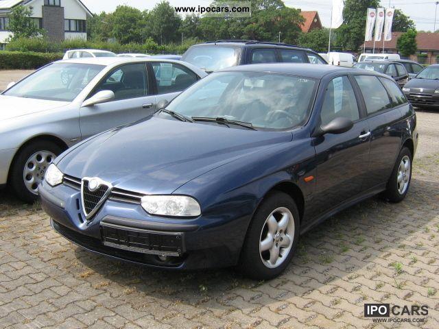 2001 alfa romeo 156 sportwagon 1 8 twin spark car photo and specs. Black Bedroom Furniture Sets. Home Design Ideas
