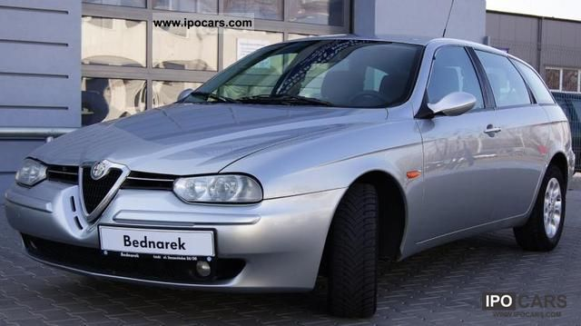 2003 Alfa Romeo  156 SPORT WAGON 2.0 JTS 165km Estate Car Used vehicle photo