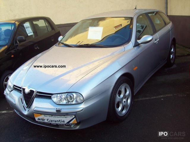 2002 Alfa Romeo  156 Sportwagon 2.0 JTS xenon / climate control Estate Car Used vehicle photo