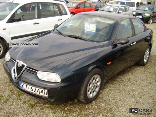Alfa Romeo  156 2001 Liquefied Petroleum Gas Cars (LPG, GPL, propane) photo
