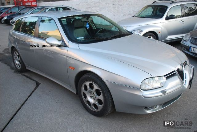 2002 Alfa Romeo  Alfa 156 2.0JTS 165km * SREBRNA Strzała * Estate Car Used vehicle photo
