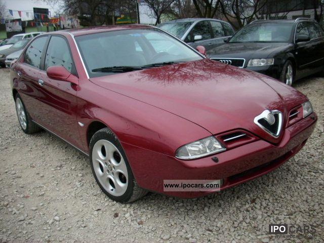 2000 Alfa Romeo  166 Limousine Used vehicle photo