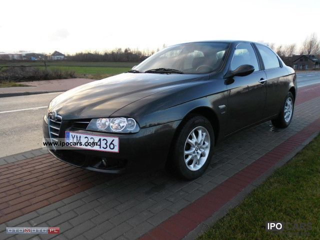 2003 Alfa Romeo  AIR LIFT 2.0JTS 165km CZARNY ALU Limousine Used vehicle photo