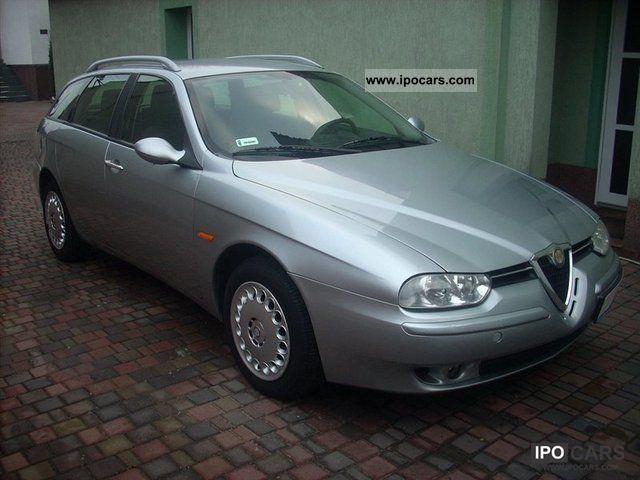 2002 alfa romeo 156 1 9 jtd zamiana car photo and specs. Black Bedroom Furniture Sets. Home Design Ideas