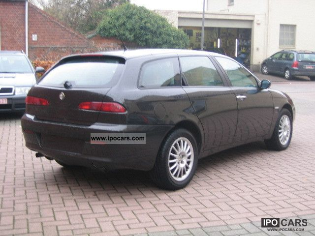 2005 alfa romeo alfa 156 1 9 jtd sw leather klimaaut car photo and specs. Black Bedroom Furniture Sets. Home Design Ideas