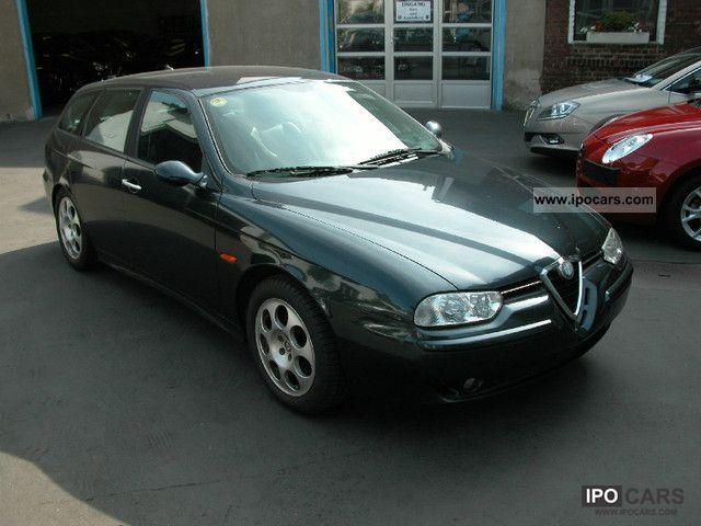 2002 alfa romeo 156 sportwagon 2 4 jtd distinctive car photo and specs. Black Bedroom Furniture Sets. Home Design Ideas