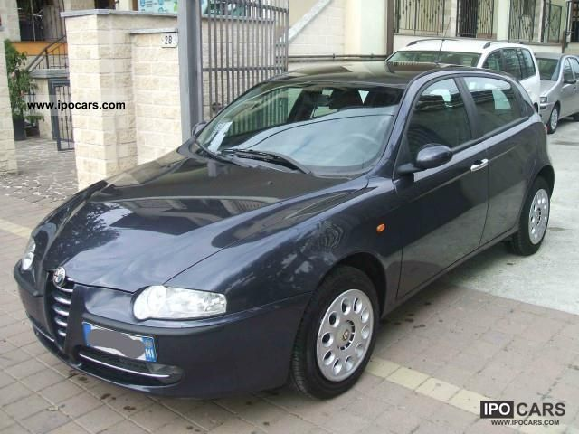 2002 alfa romeo 147 1 6 twin spark eco car photo and specs. Black Bedroom Furniture Sets. Home Design Ideas