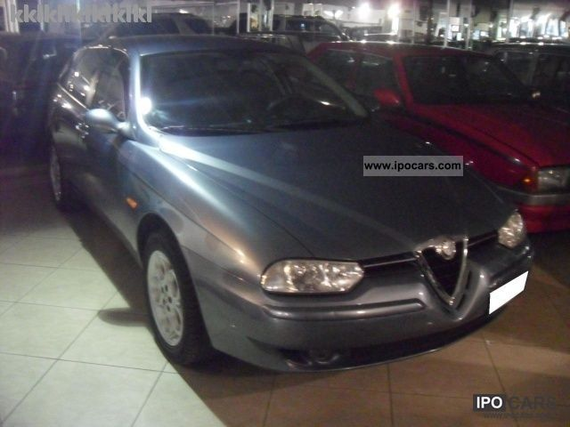 2002 Alfa Romeo  156 2.0i 16V JTS Distinctive cat SW Estate Car Used vehicle photo