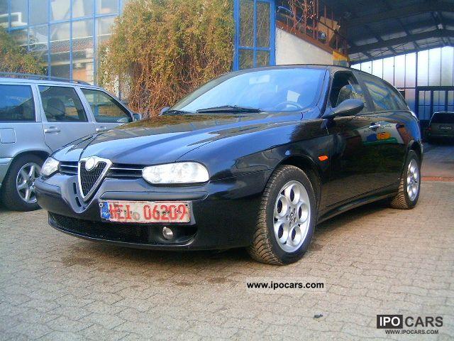 2002 alfa romeo 156 sportwagon 2 4 jtd car photo and specs. Black Bedroom Furniture Sets. Home Design Ideas