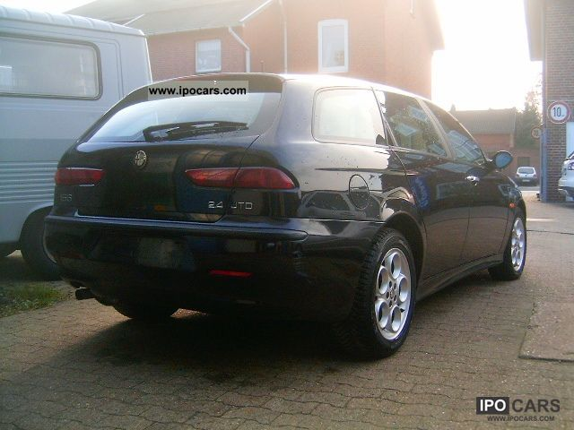 2002 alfa romeo 156 sportwagon 2 4 jtd car photo and specs. Black Bedroom Furniture Sets. Home Design Ideas