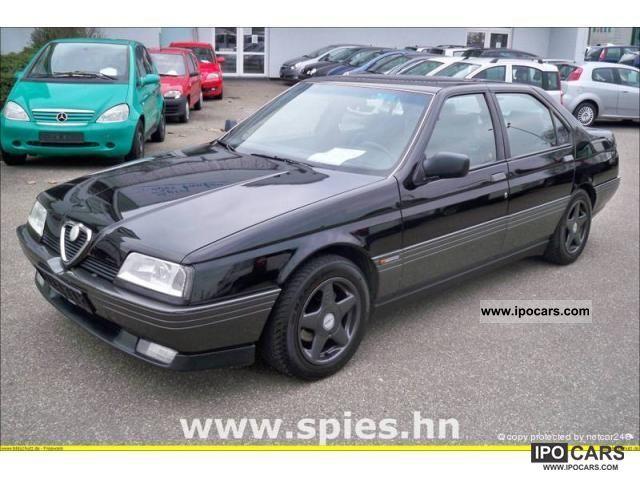 1996 Alfa Romeo 164 2.0 Twin Spark LPG Autogas Limousine Used vehicle ...
