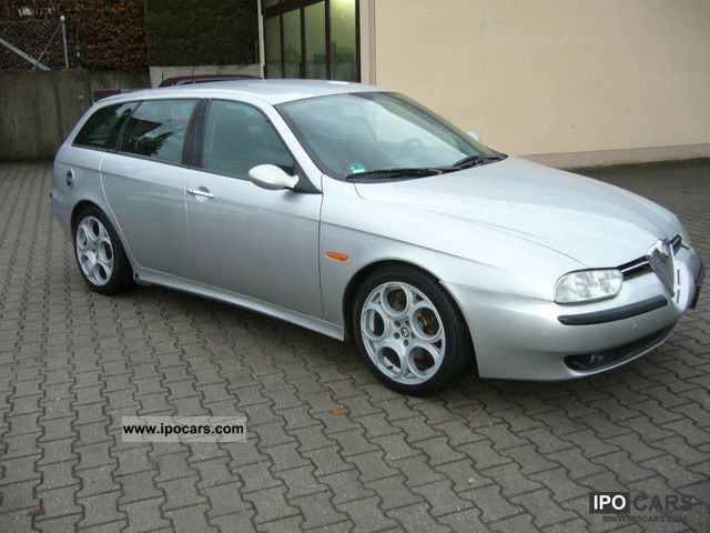 2002 alfa romeo alfa 156 sportwagon 2 5 v6 24v edizione esclusiv car photo and specs. Black Bedroom Furniture Sets. Home Design Ideas