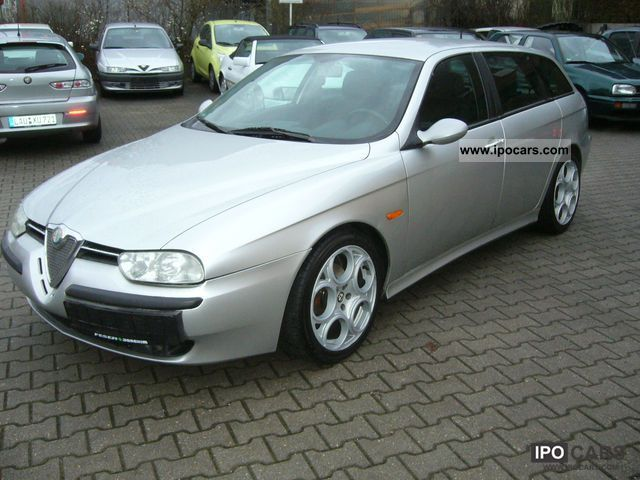 2002 alfa romeo alfa 156 sportwagon 2 5 v6 24v edizione. Black Bedroom Furniture Sets. Home Design Ideas