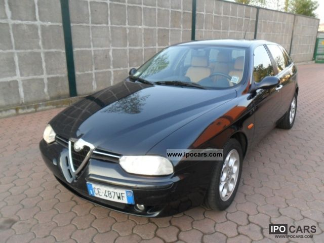 2003 Alfa Romeo  156 1.9 JTD 16V SW Distinctive Estate Car Used vehicle photo