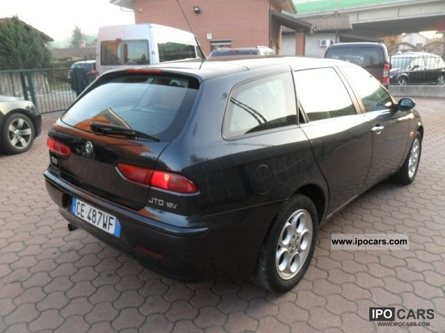 2003 alfa romeo 156 1 9 jtd 16v sw distinctive car photo and specs. Black Bedroom Furniture Sets. Home Design Ideas