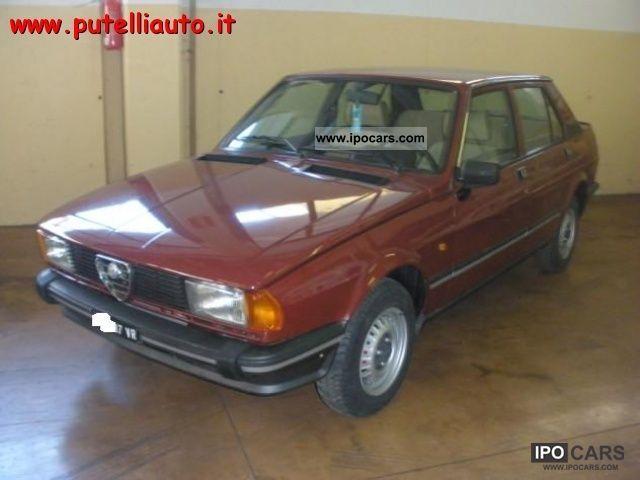 1981 Alfa Romeo  Giulietta 6.1 immacolata!! Limousine Used vehicle photo