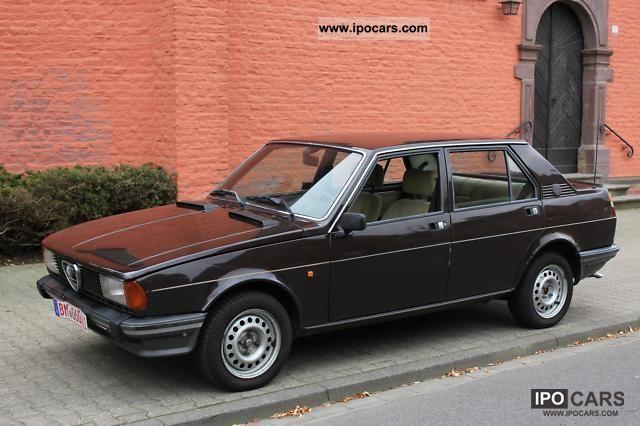 1981 Alfa Romeo  Giulietta 8.1 Sports car/Coupe Classic Vehicle photo