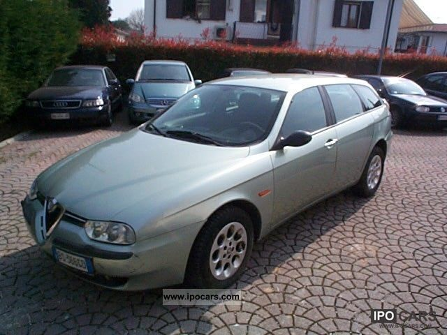 2001 Alfa Romeo  156 2.4 JTD Distinctive STATION WAGON 140CV Estate Car Used vehicle photo