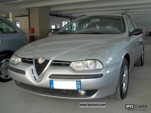 2002 Alfa Romeo  156 1.8i 16V T.S. SW progression cat Estate Car Used vehicle photo