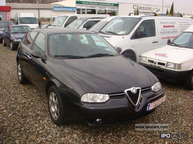 2003 alfa romeo 156 sportwagon 1 8 twin spark related infomation specifications weili. Black Bedroom Furniture Sets. Home Design Ideas