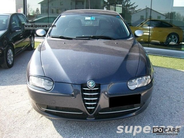 2002 alfa romeo 147 1 9 jtd 115 cv cat 5p distinctive car photo and specs. Black Bedroom Furniture Sets. Home Design Ideas
